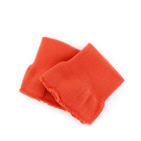 Wrist ribbing - orange