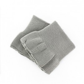 Wrist ribbing - light grey