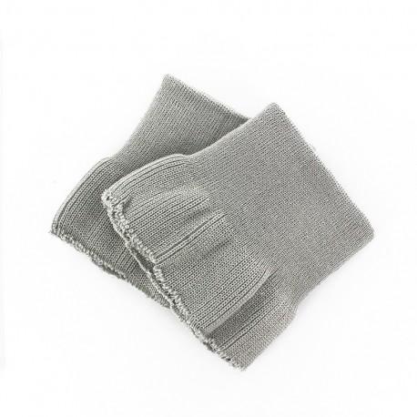 Wrist ribbing - light grey