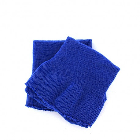 Wrist ribbing - royal blue