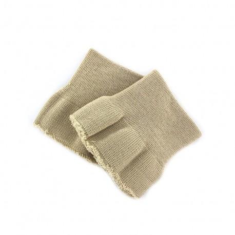 Wrist ribbing -  beige