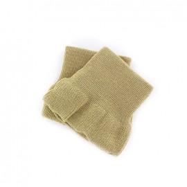 Wrist ribbing -  linen