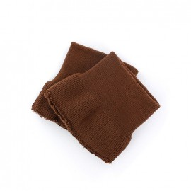 Wrist ribbing -  chocolate