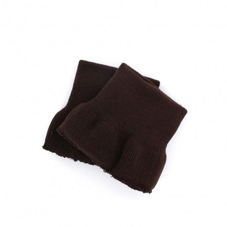 Wrist ribbing -  brown