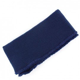Jacket Ribbing  -  navy blue