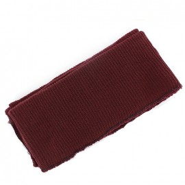 Jacket Ribbing  -  plum