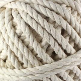 Cotton macramé cord - écru