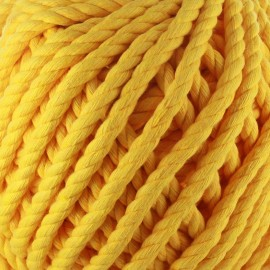 Cotton macramé cord - sunflower