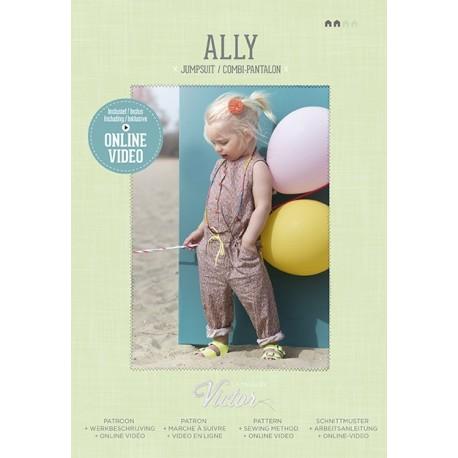 Patron Combi-pantalon Ally