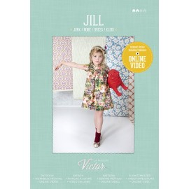Dress sewing Pattern - La maison Victor Jill