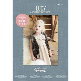 "Sewing Pattern ""Lucy Dress"" from La Maison Victor - multicolored"