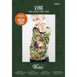 "Sewing Pattern ""Vink shirt"" from La Maison Victor - multicolored"