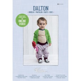 "Sewing Pattern ""Dalton pants"" from La Maison Victor - multicolored"