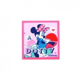Thermocollant Toile Minnie Mouse C