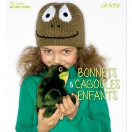 """Livre """"Bonnets & cagoules enfants"""""""
