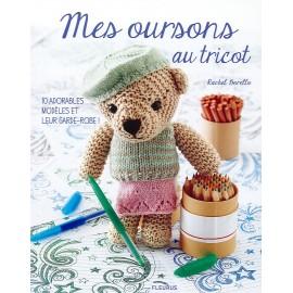 """Livre """"Mes oursons au tricot"""""""