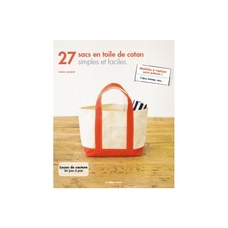 livre 27 sacs en toile de coton simples et faciles ma petite mercerie. Black Bedroom Furniture Sets. Home Design Ideas