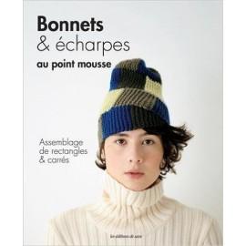 """Livre """"Bonnets & écharpes au point mousse"""""""