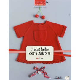 """Livre """"Tricot bébé des 4 saisons """""""