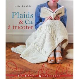 """Livre """"Plaids & cie à tricoter"""""""