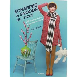 """Livre """"Echarpes & snoods au tricot"""""""