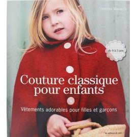 """Livre """"Couture classique pour enfants"""" de 0 à 3 ans"""