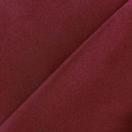 Wool broadcloth fabric - garnet x 10cm