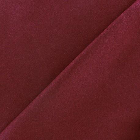 Wool broadcloth fabric - garnet x 10cm
