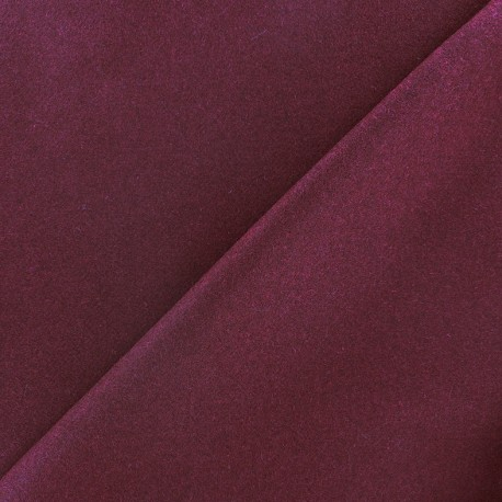 Wool broadcloth fabric - Dregs of wine x 10cm