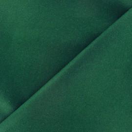 Tissu drap de laine vert  x 10cm
