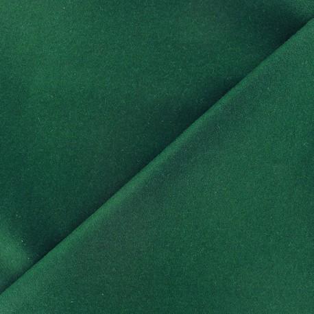 Wool broadcloth fabric - green x 10cm