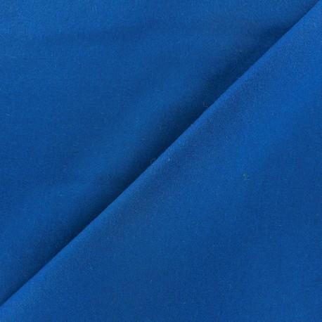 Tissu drap de laine bleu  x 10cm