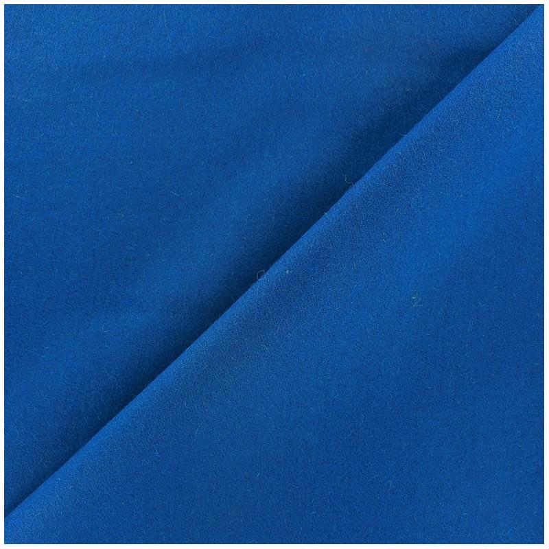 tissu drap de laine bleu x 10cm ma petite mercerie. Black Bedroom Furniture Sets. Home Design Ideas