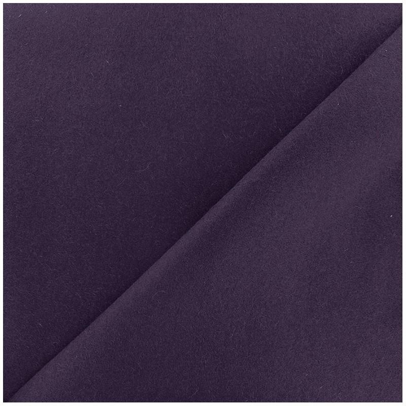 tissu drap de laine violet x 10cm ma petite mercerie. Black Bedroom Furniture Sets. Home Design Ideas