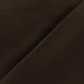 Wool broadcloth fabric - dark  brown x 10cm