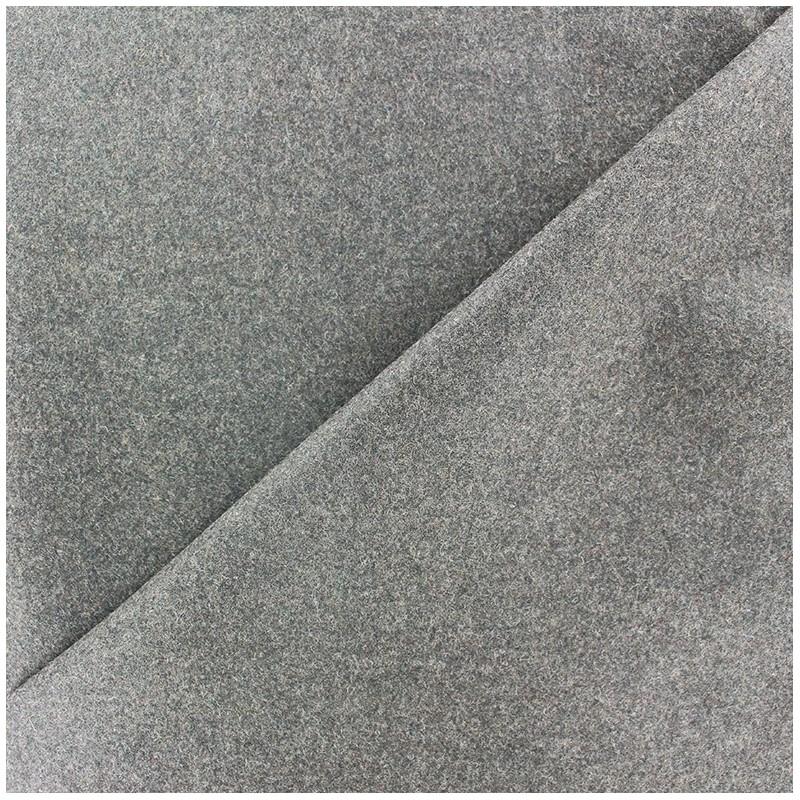 Tissu drap de laine james gris clair x 10cm ma petite - Tissu pour drap ...