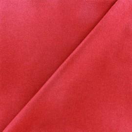 Tissu drap de laine JAMES rouge x 10cm