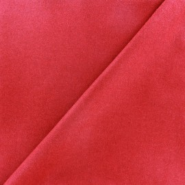 Wool broadcloth fabric - red x 10cm