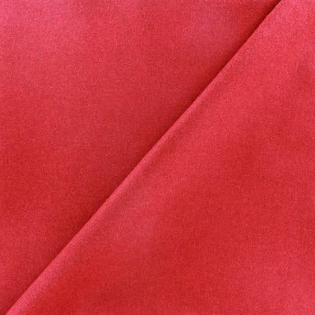 Wool broadcloth fabric - red x 10cm