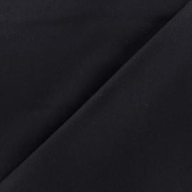 ♥ Coupon tissu 60 cm X 150 cm ♥ drap de laine JAMES bleu nuit