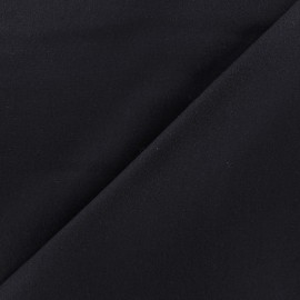 Wool broadcloth fabric - midnight blue x 10cm