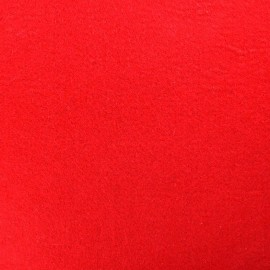 Tissu Feutrine rouge x 10cm