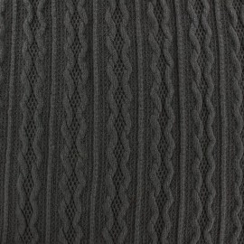 Stitch mool fabric Ireland - dark grey x 10cm
