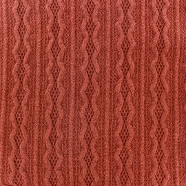 Stitch mool fabric Ireland - dark orange x 10cm