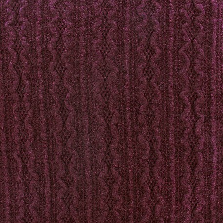 Stitch mool fabric Ireland - lie de vin x 10cm
