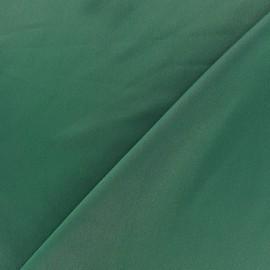 Tissu microfibre touché soie vert impérial x 10cm
