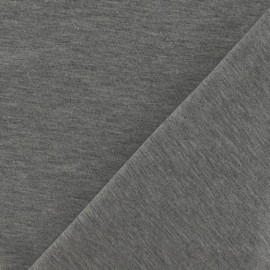 Oeko-Tex Jersey Fabric - mocked grey x 10cm