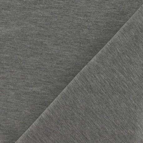 Jersey Fabric - mocked grey x 10cm