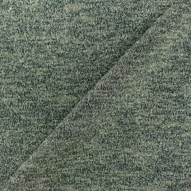 Light Stitch lurex fabric Glitter - green x 10cm
