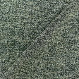Tissu Maille légère lurex Glitter vert x 10cm